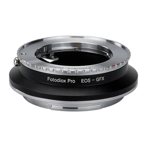 Fotodiox Pro Lens Mount Double Adapter, Rollei 35 (SL35) SLR and Canon EOS (EF / EF-S) D/SLR Lenses to Fujifilm G-Mount GFX Mirrorless Digital Camera Systems (such as GFX 50S and more)