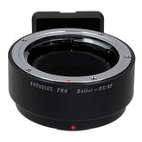 Fotodiox Pro Lens Mount Adapter - Rollei 35 (SL35) SLR Lens to Fujifilm Fuji X-Series Mirrorless Camera Body