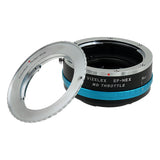 Rollei 35 (SL35) SLR Lens to Sony Alpha E-Mount Camera Body Adapter