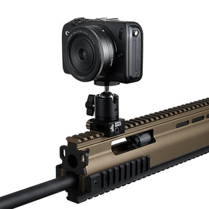 RAIL DOGZ Universal Gun Rail Mount for Small Cameras  - All Metal Camera Mount for Picatinny Rails