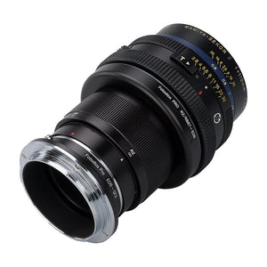 Fotodiox Pro Lens Mount Double Adapter, Mamiya RB67/RZ67 Mount and Canon EOS (EF / EF-S) D/SLR Lenses to Fujifilm G-Mount GFX Mirrorless Digital Camera Systems (such as GFX 50S and more)