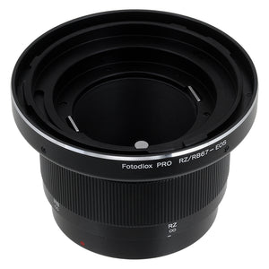 Fotodiox Pro Lens Mount Adapter Compatible with Mamiya RB67/RZ67 Mount Lens to Canon EOS (EF, EF-S) Mount SLR Camera Body - with Generation v10 Focus Confirmation Chip and Built-In Focusing Helicoid