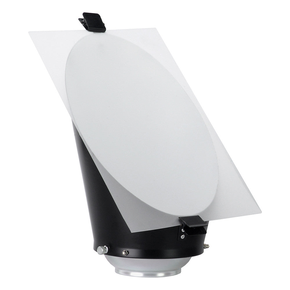Fotodiox Background Reflector for Balcar and Paul C Buff (AlienBees,  Einstein, White Lightning) Compatible Lights - Included Diffusion Sheet