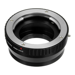 Fotodiox Lens Mount Adapter - Rollei 35 (SL35) SLR Lens to Micro Four Thirds (MFT, M4/3) Mount Mirrorless Camera Body