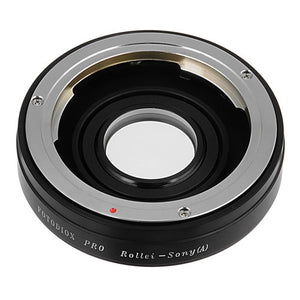 Fotodiox Pro Lens Mount Adapter - Rollei 35 (SL35) SLR Lens to Sony Alpha A-Mount (and Minolta AF) Mount SLR Camera Body