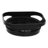 Designed Metal Bayonet Lens Hood for the Sony DSC-RX1 Digital Camera