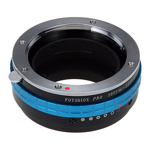 Fotodiox Pro Lens Mount Adapter - Sony Alpha A-Mount (and Minolta AF) DSLR Lens to Sony Alpha E-Mount Mirrorless Camera Body
