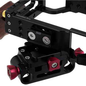 Fotodiox Pro Cinema Sharkcage for Sony α7II-Series Cameras (α7 II, α7R II) - Skeleton Housing, Protective Video Cage