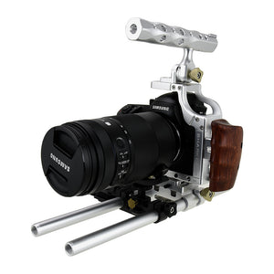 Fotodiox Pro Cinema Sharkcage for Samsung NX1 Camera (NX1) - Skeleton Housing, Protective Video Cage