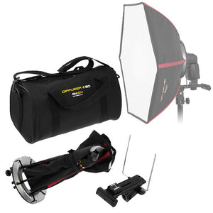 SMDV Diffuser 50 - Smart Softbox for Speedlite Flash for Canon, Nikon, Pentax, Olympus and Nissin Flash