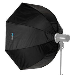 Pro Studio Solutions EZ-Pro Softbox with Novatron Speedring for Novatron FC-Series, M-Series, and Compatible - Quick Collapsible Softbox with Silver Reflective Interior with Double Diffusion Panels