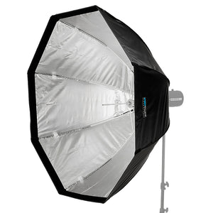 Pro Studio Solutions EZ-Pro Softbox with Elinchrom Speedring for Elinchrom, Calumet Genesis, and Compatible - Quick Collapsible Softbox with Silver Reflective Interior with Double Diffusion Panels