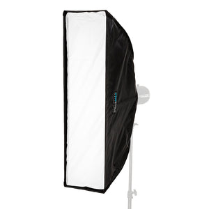 Pro Studio Solutions EZ-Pro Softbox with Multiblitz V Speedring for Multiblitz V, Varilux, and Compatible - Quick Collapsible Softbox with Silver Reflective Interior with Double Diffusion Panels