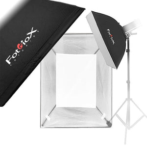 "Fotodiox Pro 24x36"" Softbox with 3-6"" Diameter Strobe Heads"