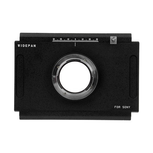 Fotodiox Pro Lens Mount Adapter - Sony Alpha A-Mount (and Minolta AF) DSLR to Large Format 4x5 View Cameras with a Graflok Rear Standard - Shift / Stitch Adapter