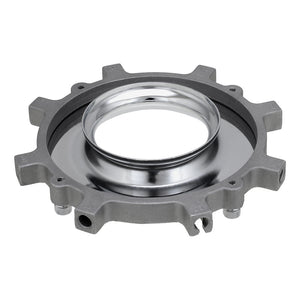 Photogenic & Norman ML Compatible Speedring Insert for Light Modifiers - 6in Insert for Softboxes, Beauty Dishes and More