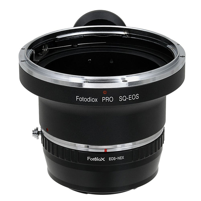 Fotodiox Pro Lens Mount Adapter - Bronica SQ Mount Lens to Sony Alpha E-Mount Mirrorless Camera Body