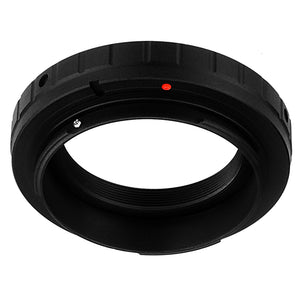 Fotodiox Lens Mount Adapter Compatible with T-Mount (T / T-2) Screw Mount SLR Lens to Canon EOS (EF, EF-S) Mount SLR Camera Body - with Generation v10 Focus Confirmation Chip
