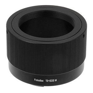 T-Mount (T / T-2) Screw Mount lens to Canon EOS M (EF-m Mount) Camera Bodies