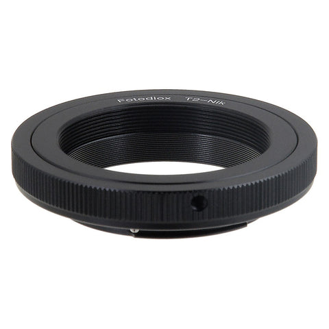 T-Mount (T / T-2) Screw Mount SLR Lens to Nikon F Mount SLR Camera Body Adapter