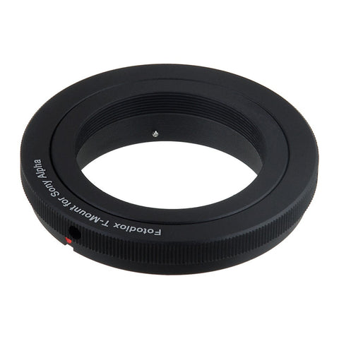 T-Mount Screw Mount SLR Lens to Sony Alpha A-Mount Camera Bodies