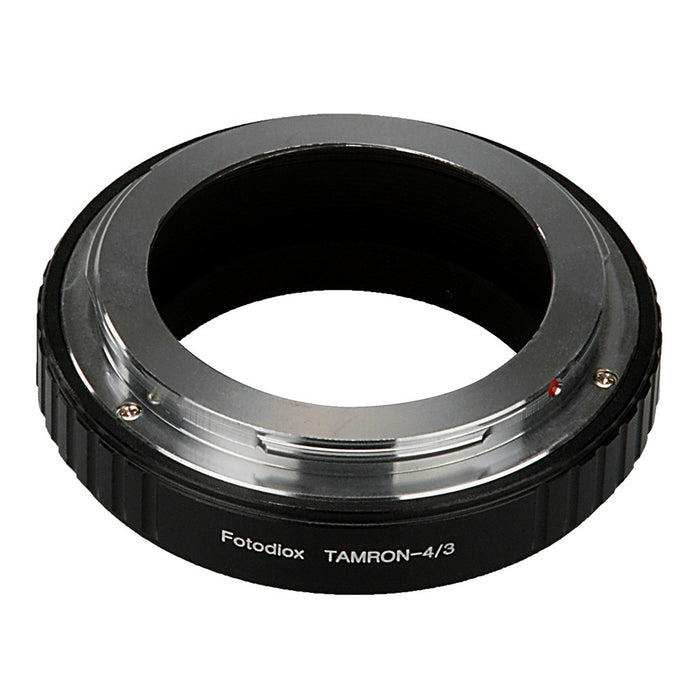Fotodiox Lens Mount Adapter - Tamron Adaptall (Adaptall-2) Mount SLR Lens to Olympus 4/3 (OM4/3 or 4/3) Mount Mirrorless Camera Body