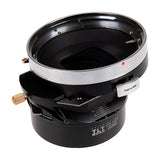 Fotodiox Pro TLT ROKR - Tilt / Shift Lens Mount Adapter for Bronica ETR Mount SLR Lenses to Fujifilm Fuji X-Series Mirrorless Camera Body