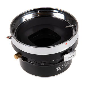 Fotodiox Pro TLT ROKR - Tilt / Shift Lens Mount Adapter for Bronica ETR Mount SLR Lenses to Micro Four Thirds (MFT, M4/3) Mount Mirrorless Camera Body
