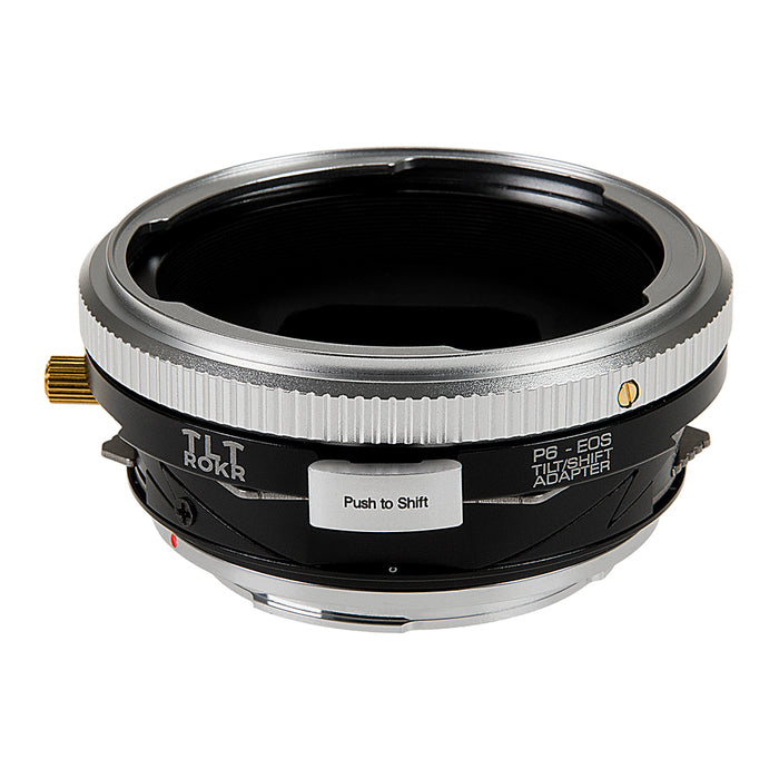 Fotodiox Pro TLT ROKR - Tilt / Shift Lens Mount Adapter for Pentacon 6 (Kiev 66) SLR Lenses to Canon EOS (EF, EF-S) Mount SLR Camera Body