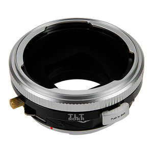 Fotodiox Pro TLT ROKR - Tilt / Shift Lens Mount Adapter Compatible with for Pentacon 6 (Kiev 66) Lenses to Canon EOS (EF, EF-S) Mount SLR Camera Body - with Generation v10 Focus Confirmation Chip