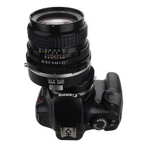 Fotodiox Pro TLT ROKR - Tilt / Shift Lens Mount Adapter for Pentax 6x7 (P67, PK67) Mount SLR Lenses to Canon EOS (EF, EF-S) Mount SLR Camera Body
