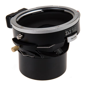 Fotodiox Pro TLT ROKR - Tilt / Shift Lens Mount Adapter for Pentax 6x7 (P67, PK67) Mount SLR Lenses to Sony Alpha E-Mount Mirrorless Camera Body