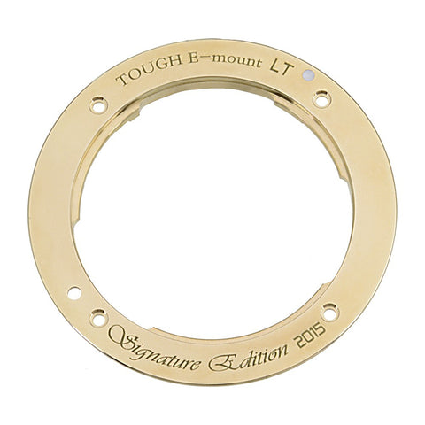 TOUGH E-Mount - Signature Gold Edition Light Tight Replacement Mount for Sony E-mount