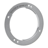 Fotodiox Pro TOUGH E-Mount - Silver - Light Tight Replacement Lens Mount for Sony E-mount Cameras