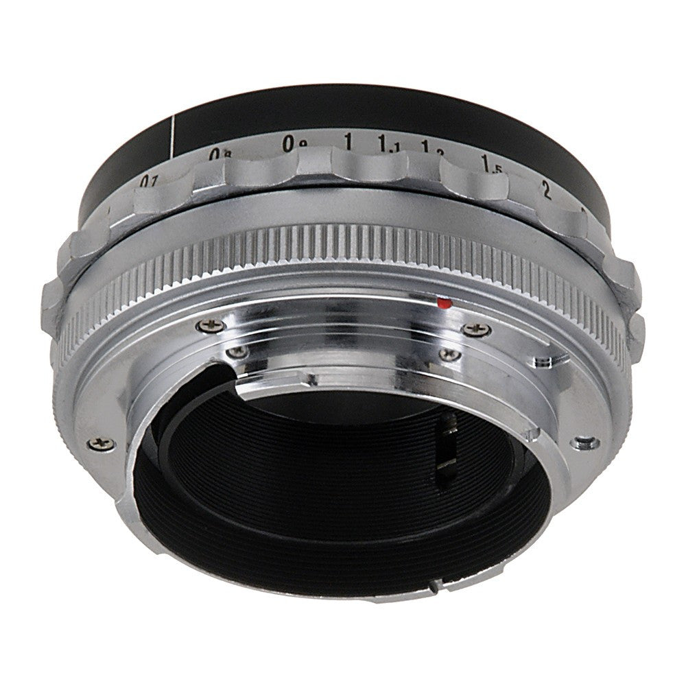 Fotodiox Pro Lens Mount Adapter - Voigtländer Nokton & Ultron 50mm Lenses  to Leica M Mount Rangefinder Camera Body with Leica 6-Bit M-Coding and RF
