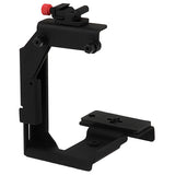 Compact Digital Video (DV) Rotating Light / Flash-Flip Camera Bracket