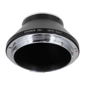 Fotodiox Pro Lens Adapter - Compatible with L39 Leica Visoflex Screw Mount Lenses to Leica S (LS) Mount DSLR Cameras