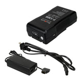 Li-Ion V-Mount Battery & Charger Kit
