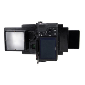 Vizelex RhinoCam+ for Sony Alpha E-Mount Full Frame Mirrorless Camera Body - for Shift Stitching 645 and Panoramic Sized Images with Medium Format Lenses