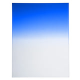 "Fotodiox Pro 6.6""x8.5"" Blue Graduated Density .6 (2-Stop) Soft Edge Filter"
