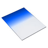 "Fotodiox Pro 6.6""x8.5"" Blue Graduated Density .6 (2-Stop) Soft Edge Filter (works with WonderPana 66 & FreeArc Systems)"