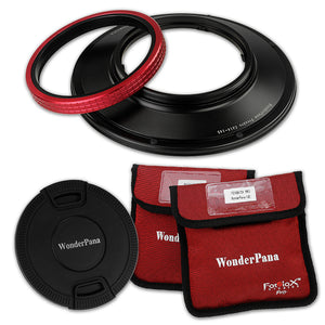 WonderPana Filter Holder for Canon 14mm Super Wide Angle EF f/2.8L II USM Lens (Full Frame 35mm) - Ultra Wide Angle Lens Filter Adapter