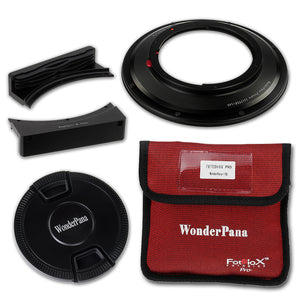 WonderPana Filter Holder for Canon 17mm TS-E Super Wide Tilt/Shift f/4L (Full Frame 35mm) - Ultra Wide Angle Lens Filter Adapter