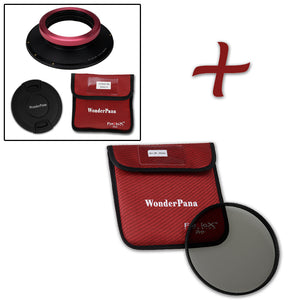 WonderPana XL Filter Holder for Sigma 12-24mm f/4 DG HSM Art Lens - Ultra Wide Angle Lens Filter Adapter