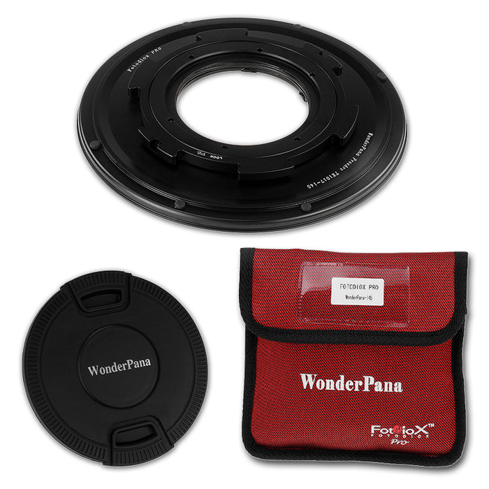 WonderPana Filter Holder for Tokina 10-17mm f/3.5-4.5 AT-X 107 DX AF Fisheye Lens (APS-C 35mm) - Ultra Wide Angle Lens Filter Adapter