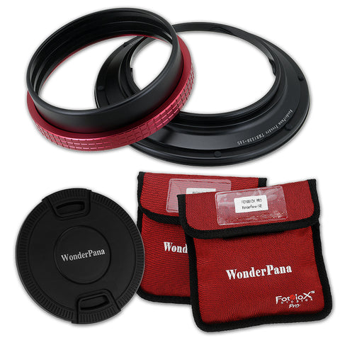 WonderPana Filter Holder for Tamron 15-30mm SP F/2.8 Di VC USD (G1 & G2) and Pentax HD PENTAX-D FA 15-30mm f/2.8 ED SDM WR Wide-Angle Zoom Lenses - Ultra Wide Angle Lens Filter Adapter