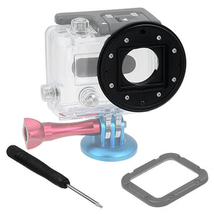 Fotodiox Pro WonderPana Go H3 Underwater Kit - GoTough Filter Adapter System f/ GoPro HERO3 Underwater Housing with Two Correction Filters (f/ Blue & Green Water)