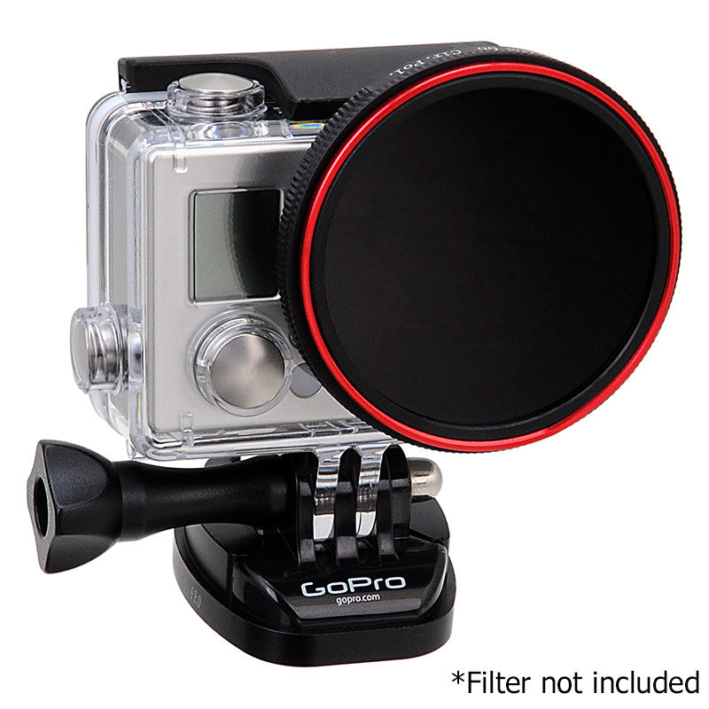 Fotodiox Pro WonderPana Go H3+ Filter Adapter - GoTough Filter Adapter  System f/ GoPro HERO3+/4 Slimeline Skeleton or Underwater Housing (Not  HERO3)