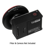Fotodiox Pro WonderPana Go H3 Naked Filter Adapter - GoTough Filter Adapter System f/ GoPro HERO3 (Not HERO3+) Naked Camera Without Case