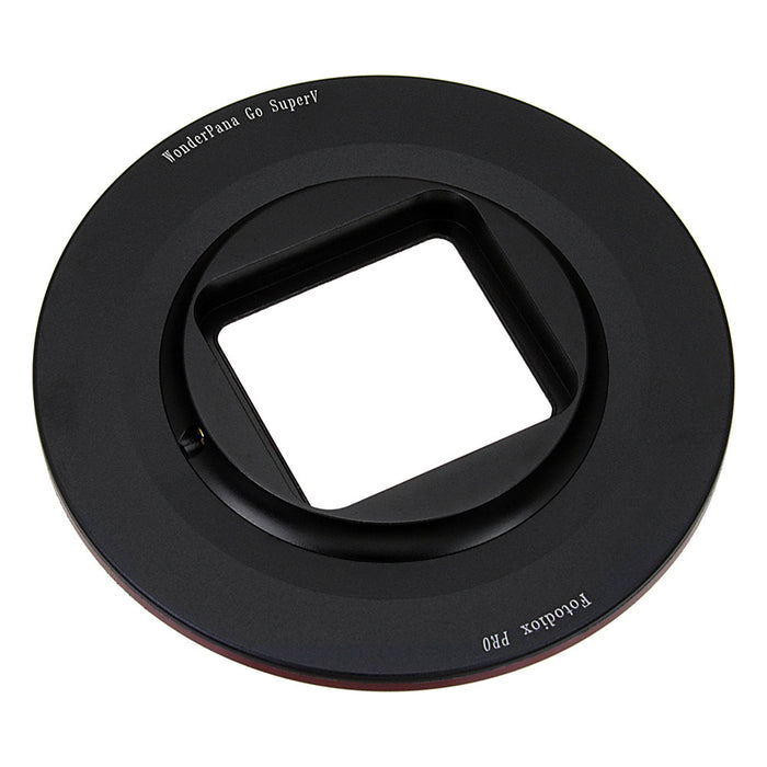 Fotodiox Pro WonderPana Go SuperV H3+/4 Filter Adapter - GoTough 77mm Filter Adapter f/ GoPro HERO3+/4 Slimline Housing